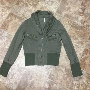 Free People Jacket Size XS LIKE NEW WORN ONCE!!